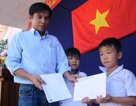 Trao 485 suất học bổng Grobest Việt Nam đến học sinh vùng lũ Bình Định – Phú Yên