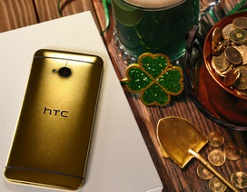 """HTC """"cho không"""" phiên bản bọc vàng 24k của smartphone cách đây 4 năm"""