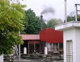 """Ninh Bình: Bệnh viện đốt chất thải nguy hại """"vô tư"""" xả khói bụi hành dân!"""
