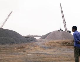 Ninh Bình: Xuất lộ thêm nhiều bãi cát không phép ven sông Đáy
