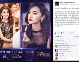 Hot girl Nghệ An bất ngờ lọt top Ảnh online Hoa hậu hoàn vũ VN