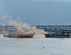 Việt Nam, Hoa Kỳ cùng diễn tập ứng phó sự cố tràn dầu trên sông Hàn
