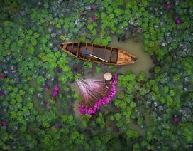 Việt Nam đoạt giải Nhì trong cuộc thi chụp ảnh từ drone đẹp nhất năm 2017