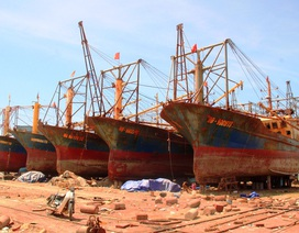 Toàn cảnh 5 tàu vỏ thép của Đại Nguyên Dương rỉ sét nham nhở