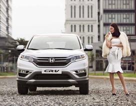 Honda tặng xe máy SH cho khách hàng mua CR-V