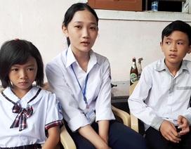 Rưng rưng nước mắt ngày trở lại trường của nữ sinh nghèo vượt khó