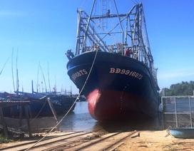 Tàu vỏ thép bị hư hỏng đầu tiên được sửa chữa xong