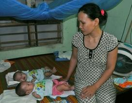 Thương bé 3 tháng tuổi mắc bệnh teo hẹp động mạch phổi và hở van tim ba lá