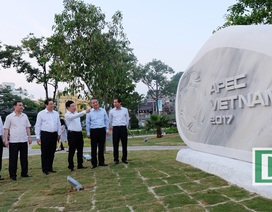 Cận cảnh Công viên APEC đang hoàn thiện tại Đà Nẵng
