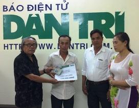 Bạn đọc giúp thêm gia đình ông Hồ Văn Cường 130 triệu đồng