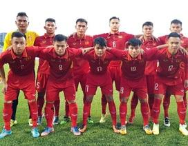 U19 Việt Nam xếp hạt giống số 1 tại vòng chung kết châu Á
