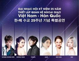 Đại tiệc âm nhạc kỉ niệm 25 năm quan hệ ngoại giao Việt Nam – Hàn Quốc