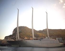 Siêu du thuyền lớn nhất thế giới trị giá gần 500 triệu USD