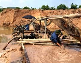 Bắc Giang: Hành vi trục lợi tài nguyên cát trên dòng sông Lục Nam bị chặn đứng!