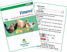 Giám sát chặt chẽ việc nhập khẩu nguyên liệu kháng sinh để sản xuất thuốc thú y