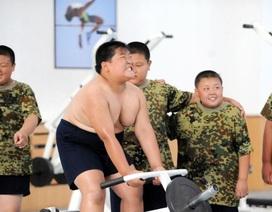 Lò luyện khắc nghiệt cho trẻ em béo phì Trung Quốc