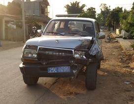 Va chạm giữa 2 ô tô chở cán bộ, Phó trưởng công an huyện tử vong