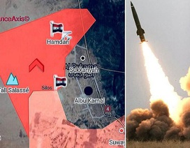 Syria hủy diệt IS ở al-Bukamal bằng sát thủ Tochka-U