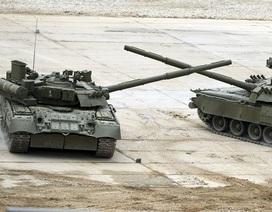 Quân đoàn xe tăng cận vệ số 1 Nga tăng cường hàng loạt T-72B3