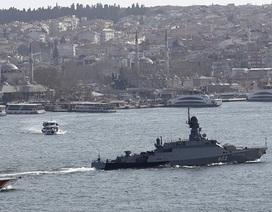 Nga có quyền triển khai 11 tàu chiến cùng lúc đến cảng Tartus, Syria