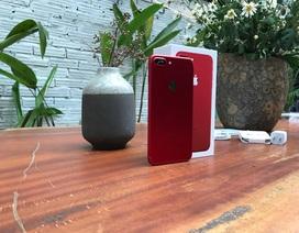 Trên tay iPhone 7 Plus màu đỏ vừa xuất hiện ở Hà Nội, giá 25 triệu đồng