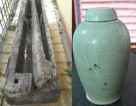 Phát hiện ngôi mộ cổ độc mộc chứa nhiều bình gốm