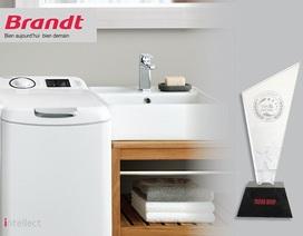 """Máy giặt sấy """"Intellect"""" Brandt đạt giải Tin & Dùng 2017"""
