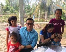 5 chị em mồ côi được hỗ trợ xây dựng nhà mới