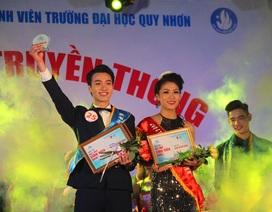 """Sinh viên ĐH Quy Nhơn tỏa sáng trong cuộc thi tìm kiếm """"trai tài gái sắc"""""""