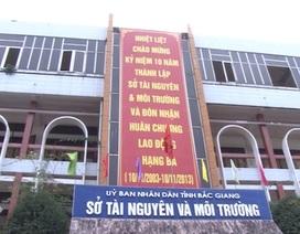 """Bắc Giang: Sai phạm """"khủng"""" tại Trung tâm quan trắc, cơ quan quản lý thoát trách nhiệm?"""