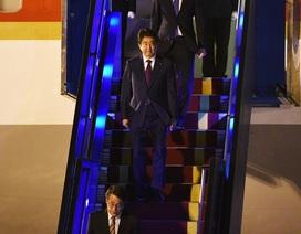 Thủ tướng Nhật Bản Shinzo Abe đến Đà Nẵng