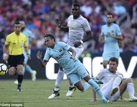 Neymar ghi bàn trong trận đấu Barcelona áp đảo toàn diện MU