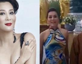 MC Nguyễn Cao Kỳ Duyên phân trần chuyện mặc hở khi xuất hiện ở chùa