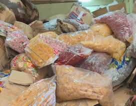 Tiêu hủy hơn 10 tấn mứt bẩn có xuất xứ từ Trung Quốc