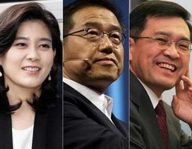 """Gia tộc quyền lực mất """"ngai vàng"""" Samsung?"""