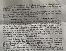 UBND tỉnh Sơn La hồi âm thông tin gói thầu dự án kè suối Nặm La
