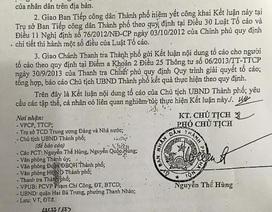 Hà Nội: Lãnh đạo phường cố tình trì hoãn, chậm trễ giải quyết đơn của công dân