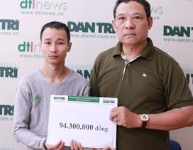 Hơn 94 triệu đồng đến với gia đình sản phụ Đông đã tử vong