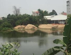 Hà Nội: Đề nghị xử lý nghiêm tình trạng lấp hồ đầm, lấn chiếm đất công tại Sóc Sơn