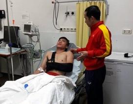 U20 Việt Nam về nước, HLV Hoàng Anh Tuấn tiếc cho Tiến Dụng