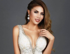 Hoa hậu thế giới người Việt Vivian Phạm đẹp thanh thoát cuốn hút ánh nhìn