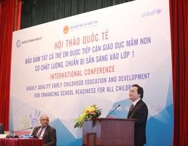 Việt Nam đã đảm bảo quyền tiếp cận giáo dục tiền tiểu học cho tất cả trẻ em