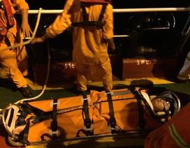 Cứu thuyền viên người Trung Quốc bị nạn ở ngoài khơi Nha Trang