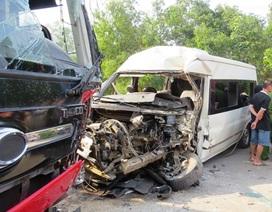 Hai xe khách đối đầu, 1 người tử vong tại chỗ