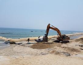 Doanh nghiệp bị gây khó trong việc làm kè chống xói lở bờ biển Cửa Đại?