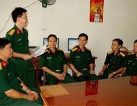 Trợ cấp một lần đối với sĩ quan nghỉ hưu trước hạn tuổi