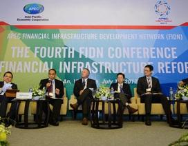 Chia sẻ kinh nghiệm về cải cách cơ sở hạ tầng tài chính trong APEC