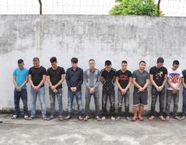 Điều tra làm rõ vụ hàng chục thanh niên 2 tỉnh mang hung khí hỗn chiến