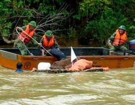 Thủy điện xả nước phục vụ diễn tập cứu người trong lũ