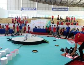 Học sinh Quảng Nam, Đà Nẵng thi tài sáng tạo robot